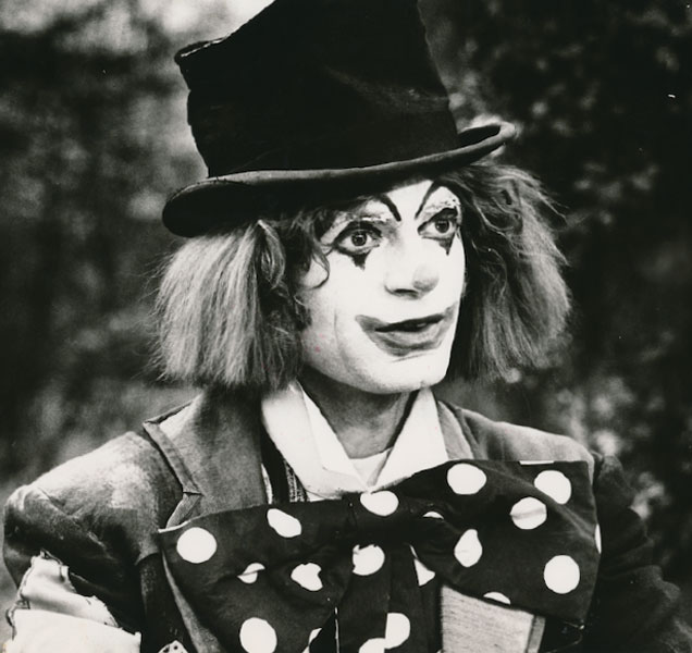 John Moreno as the Clown in Black Beauty